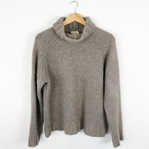 Vintage J. Crew Merino Wool Turtleneck Sweater